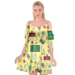 Back To School Cutout Spaghetti Strap Chiffon Dress by Valentinaart