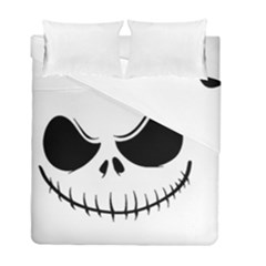 Halloween Duvet Cover Double Side (full/ Double Size) by Valentinaart