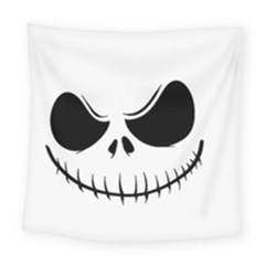 Halloween Square Tapestry (large) by Valentinaart