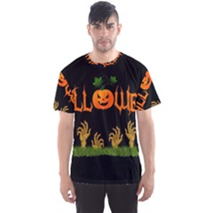 Halloween Men s Sports Mesh Tee