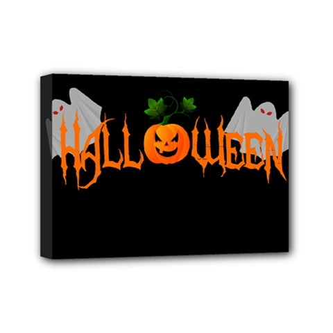 Halloween Mini Canvas 7  X 5  by Valentinaart