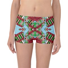 Digital Dot One Boyleg Bikini Bottoms