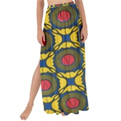 African Textiles Patterns Maxi Chiffon Tie Up Sarong