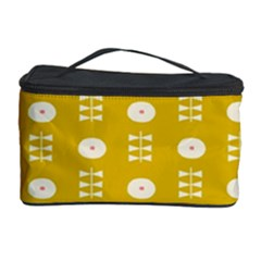 Circle Polka Chevron Orange Pink Spot Dots Cosmetic Storage Case by Mariart