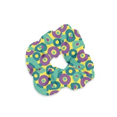 Discrete State Turing Pattern Polka Dots Green Purple Yellow Rainbow Sexy Beauty Velvet Scrunchie by Mariart