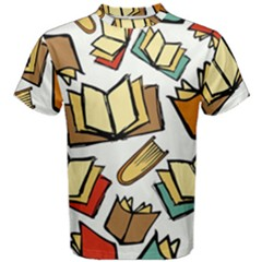 Friends Library Lobby Book Sale Men s Cotton Tee