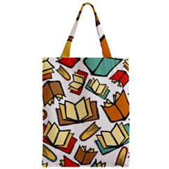 Friends Library Lobby Book Sale Zipper Classic Tote Bag by Mariart