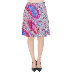 Histology Inc Histo Logistics Incorporated Alcian Blue Velvet High Waist Skirt