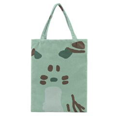 Lineless Background For Minty Wildlife Monster Classic Tote Bag by Mariart