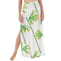 Marimekko Fabric Flower Floral Leaf Maxi Chiffon Tie Up Sarong by Mariart