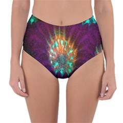 Live Green Brain Goniastrea Underwater Corals Consist Small Reversible High Waist Bikini Bottoms by Mariart