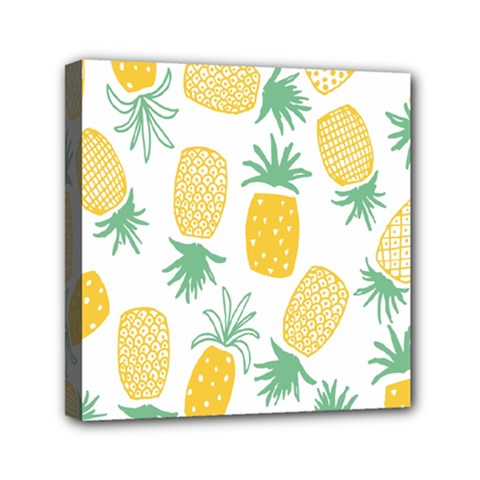 Pineapple Fruite Seamless Pattern Mini Canvas 6  X 6