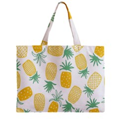 Pineapple Fruite Seamless Pattern Zipper Mini Tote Bag by Mariart