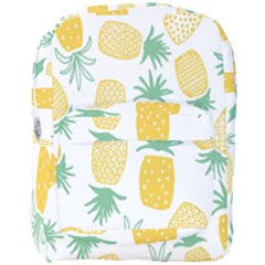 Pineapple Fruite Seamless Pattern Full Print Backpack by Mariart