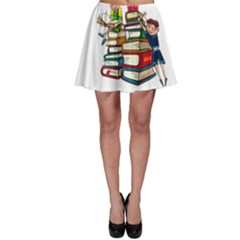 Back To School Skater Skirt by Valentinaart