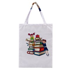 Back To School Classic Tote Bag by Valentinaart