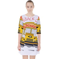 Back To School   School Bus Pocket Dress