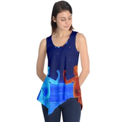 Space Boys  Sleeveless Tunic