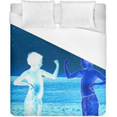 Space Boys  Duvet Cover (california King Size) by Valentinaart