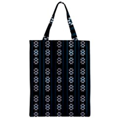 Folklore Pattern Zipper Classic Tote Bag by Valentinaart