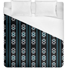 Folklore Pattern Duvet Cover (king Size)