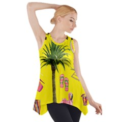 Aloha   Summer Fun 2 Side Drop Tank Tunic by MoreColorsinLife