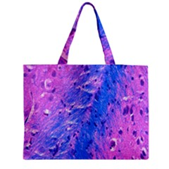 The Luxol Fast Blue Myelin Stain Medium Tote Bag by Mariart