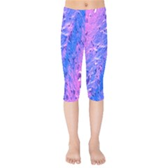 The Luxol Fast Blue Myelin Stain Kids  Capri Leggings  by Mariart