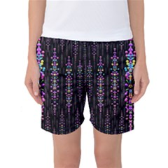 Rainbow Asteroid Pearls In The Wonderful Atmosphere Women s Basketball Shorts by pepitasart