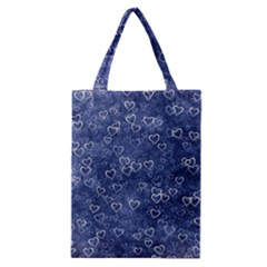 Heart Pattern Classic Tote Bag by ValentinaDesign