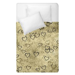 Heart Pattern Duvet Cover Double Side (single Size) by ValentinaDesign