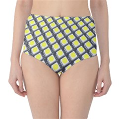 Wafer Size Figure High Waist Bikini Bottoms by Mariart