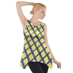 Wafer Size Figure Side Drop Tank Tunic by Mariart