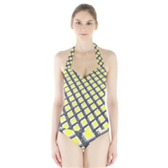 Wafer Size Figure Halter Swimsuit by Mariart