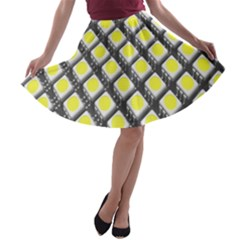 Wafer Size Figure A Line Skater Skirt by Mariart
