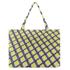 Wafer Size Figure Zipper Medium Tote Bag by Mariart