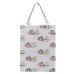 Pinecone Pattern Classic Tote Bag by Mariart