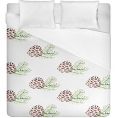 Pinecone Pattern Duvet Cover (king Size) by Mariart