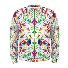 Peacock Rainbow Animals Bird Beauty Sexy Men s Sweatshirt by Mariart
