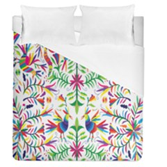 Peacock Rainbow Animals Bird Beauty Sexy Duvet Cover (queen Size) by Mariart