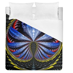 Illustration Robot Wave Duvet Cover (queen Size) by Mariart
