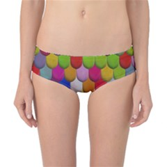 Colorful Tiles Pattern                           Classic Bikini Bottoms by LalyLauraFLM