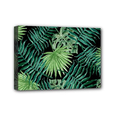 Tropical Pattern Mini Canvas 7  X 5  by ValentinaDesign