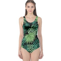 Tropical Pattern One Piece Swimsuit by ValentinaDesign