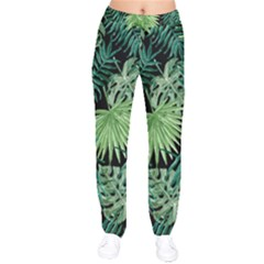 Tropical Pattern Drawstring Pants by ValentinaDesign
