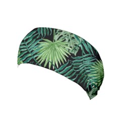 Tropical Pattern Yoga Headband by ValentinaDesign