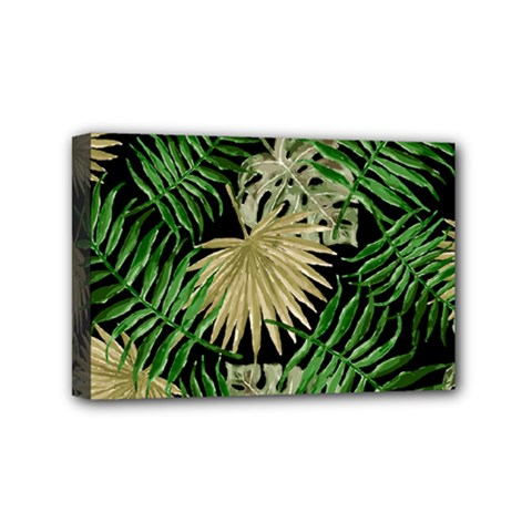 Tropical Pattern Mini Canvas 6  X 4  by ValentinaDesign