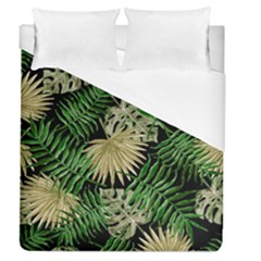 Tropical Pattern Duvet Cover (queen Size) by ValentinaDesign