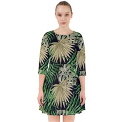 Tropical Pattern Smock Dress by ValentinaDesign