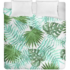 Tropical Pattern Duvet Cover Double Side (king Size) by ValentinaDesign